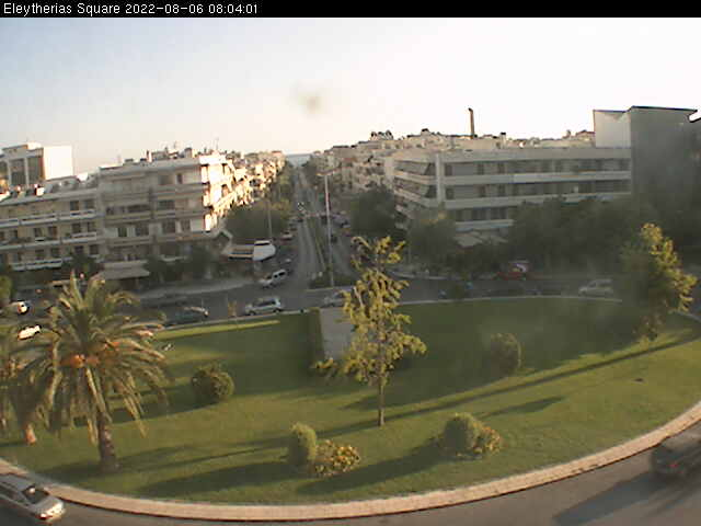 Chania, Eleftherias square Live Cam Greece